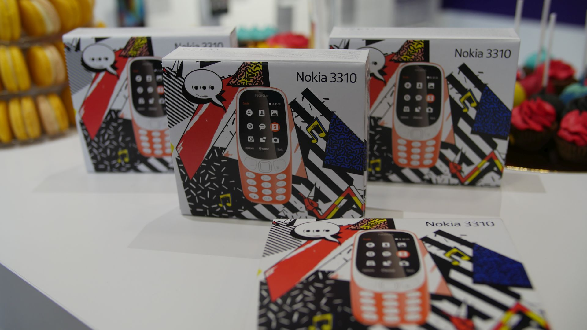 Snake is Back! Relaunch of the new Nokia 3310 phone - Monday