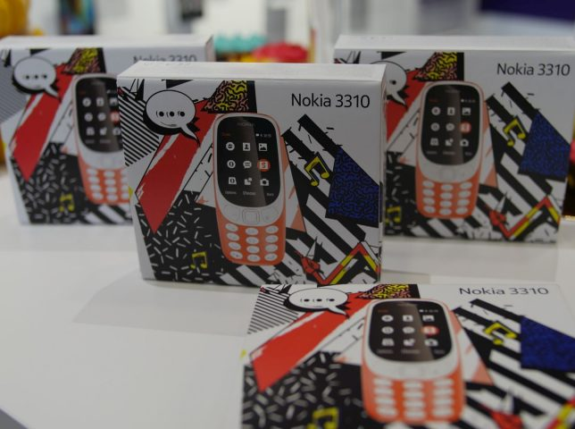 Snake is Back! Relaunch of the new Nokia 3310 phone